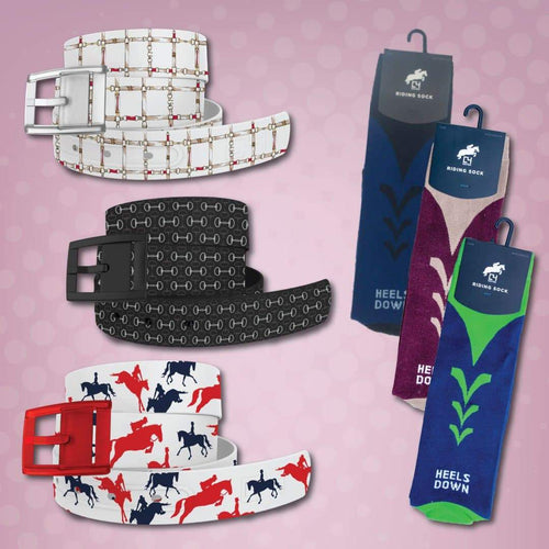 Eventer Belts & Riding Socks Bundle