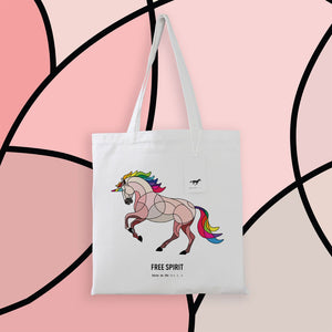 Horse on the L O O S E - Unicorn Tote