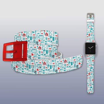 Medical Tools Apple Watch Band and Belt Bundle Product-Bundle C4 BELTS