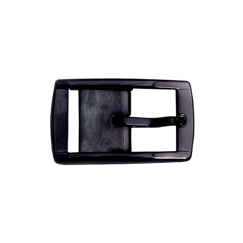 Black Chrome Classic Buckle