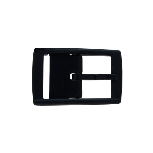 Black Classic Buckle