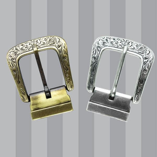 Engraved Metal Buckle Bundle