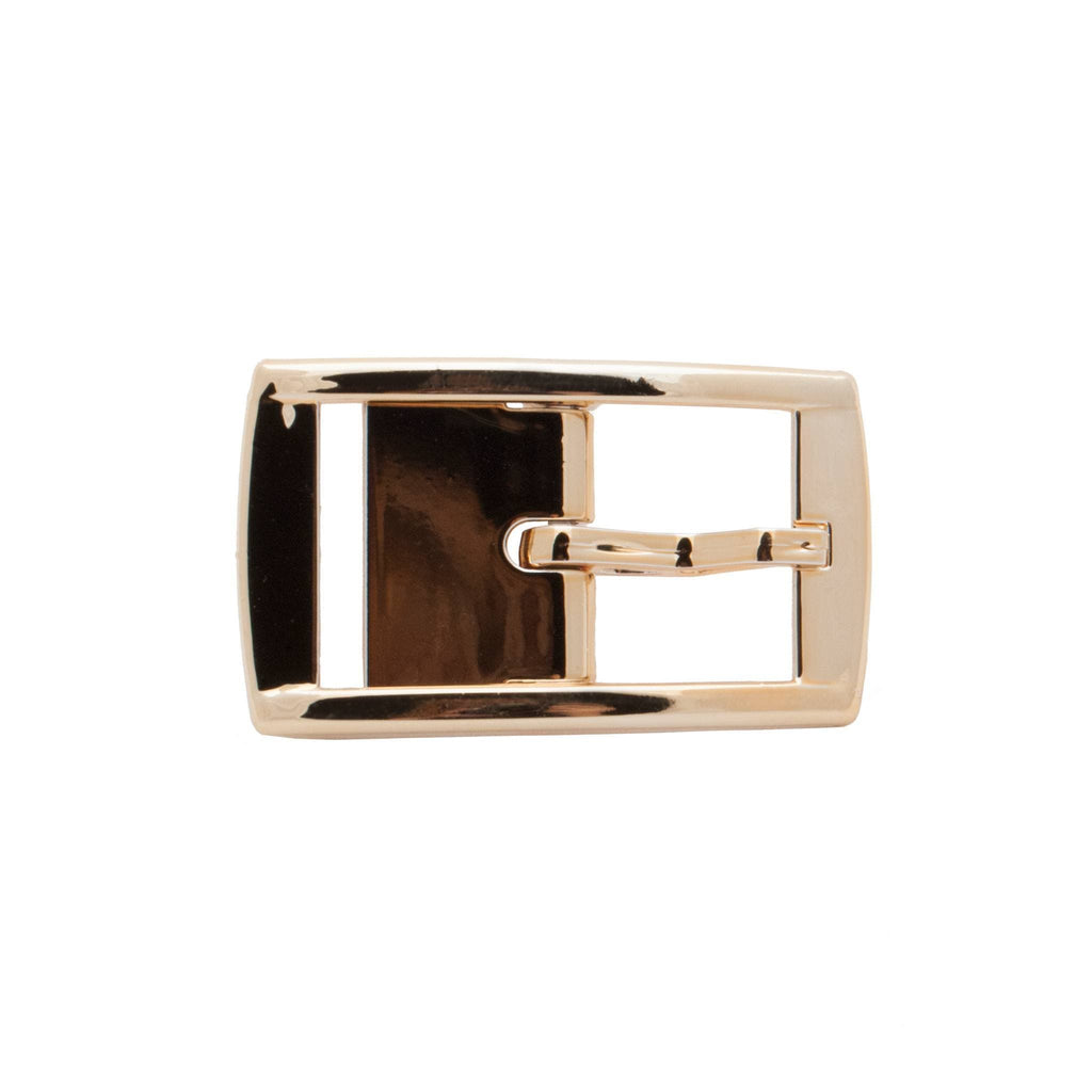 Gold Chrome Classic Buckle