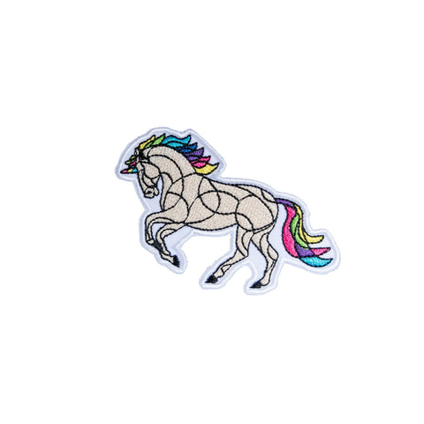 Image of Horse On The L O O S E - Patches