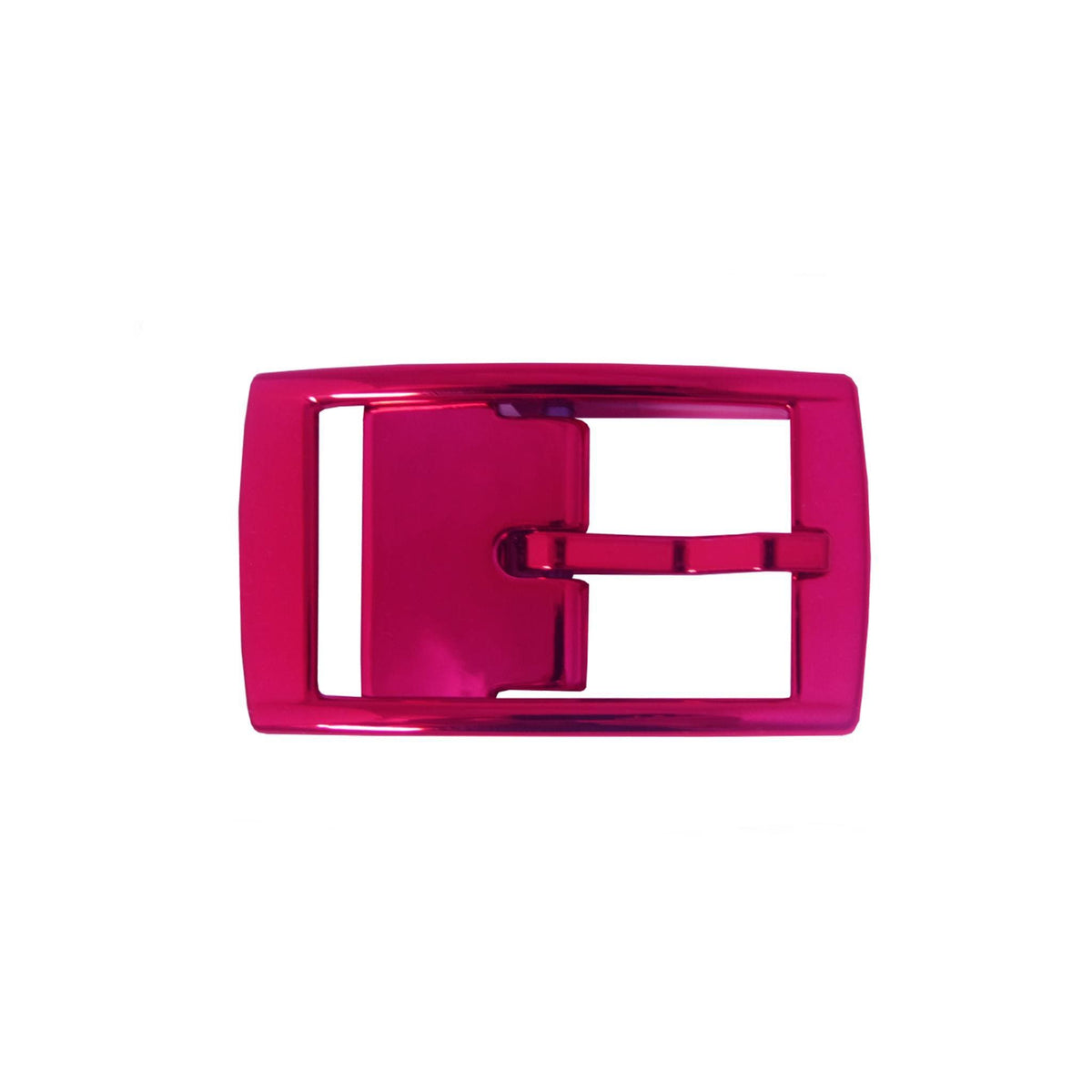 Hot Pink Chrome Classic Buckle
