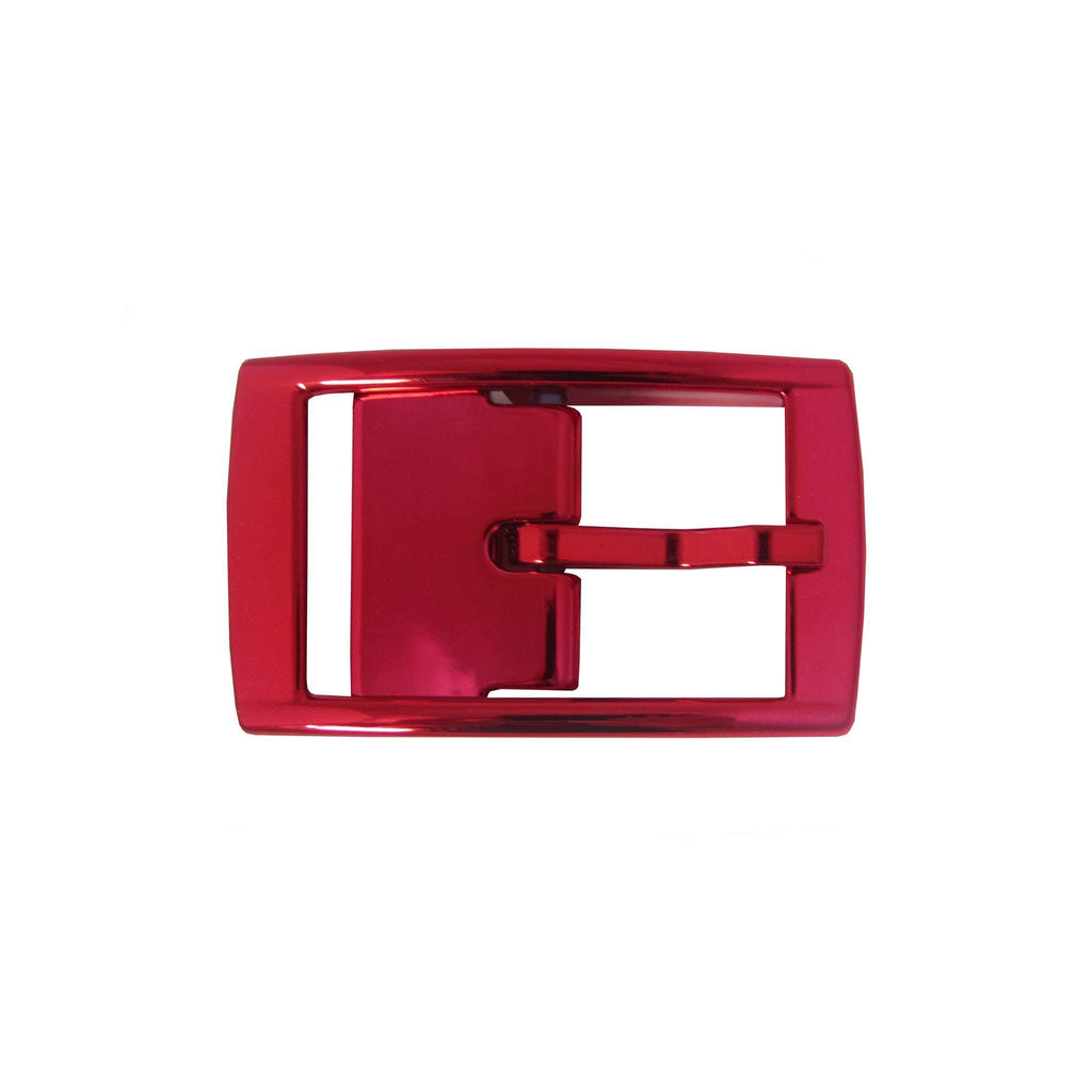 Red Chrome Classic Buckle
