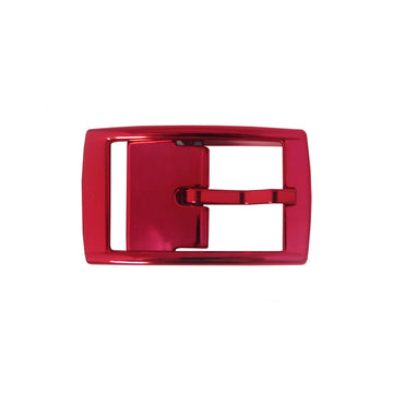 Red Chrome Buckle Buckle-Classic C4 BELTS