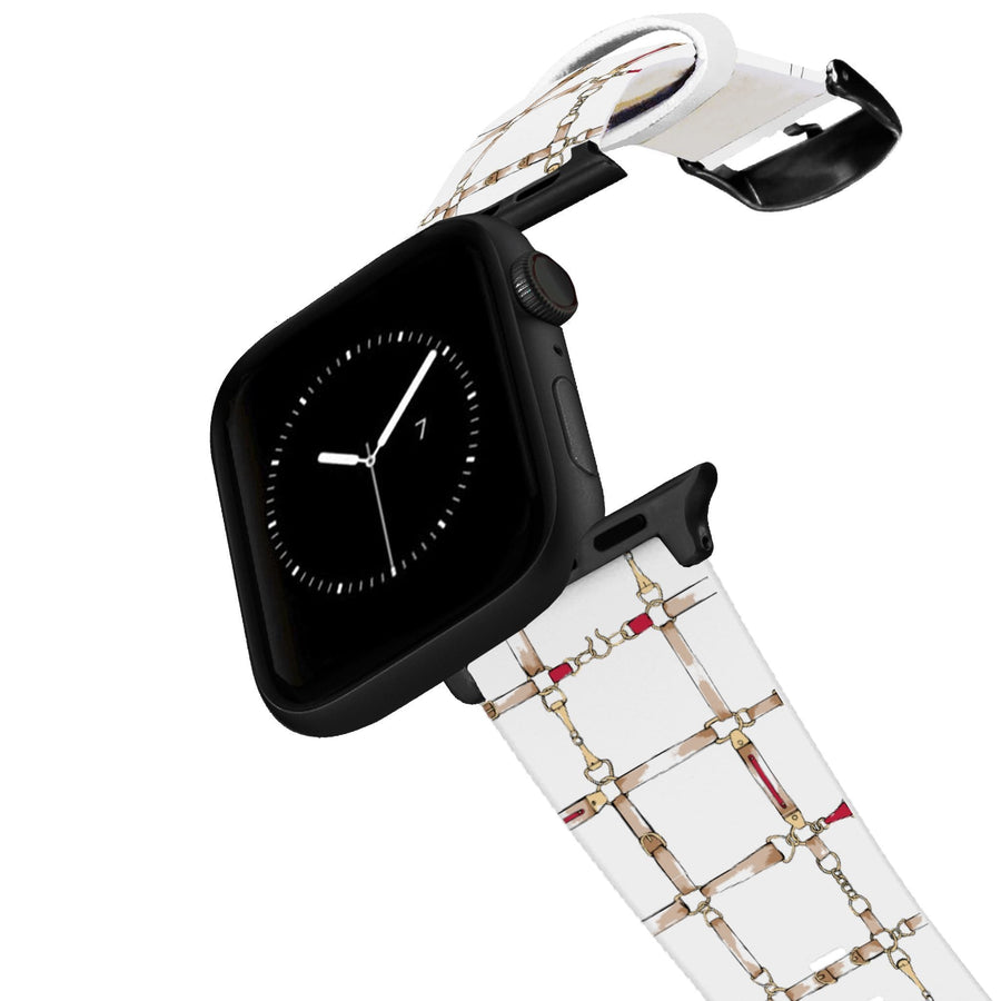 SanSoleil™ - On the Bit Apple Watch Band Apple Watch Band C4 BELTS
