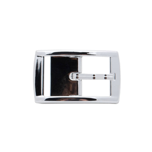 Silver Chrome Classic Buckle