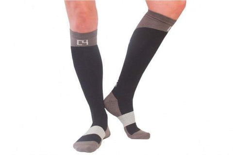 Socks - Riding Sock Combo - Black, Grey, Baby Blue