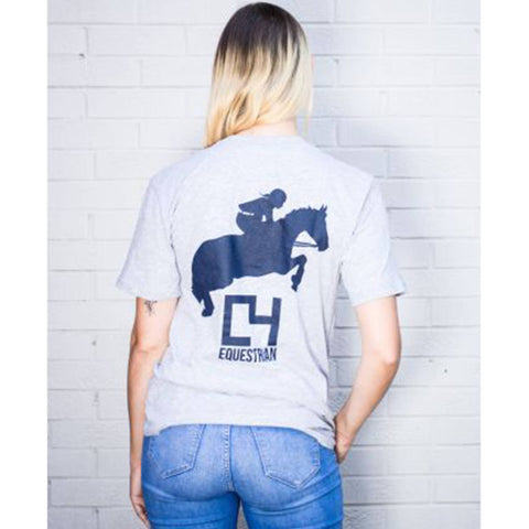 Image of T-shirt - C4 Equestrian Short-Sleeve Shirt