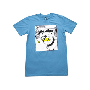Tennis Ball Love Tee | Blue