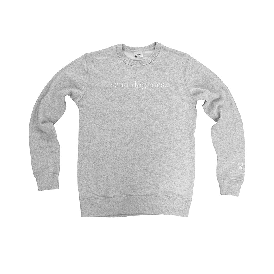 Crewneck Sweatshirt | Send Dog Pics