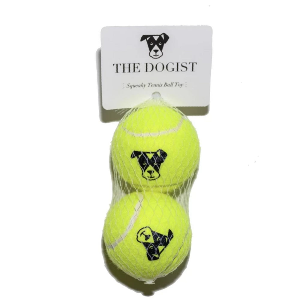 Dog Toy | Squeaky Tennis Ball