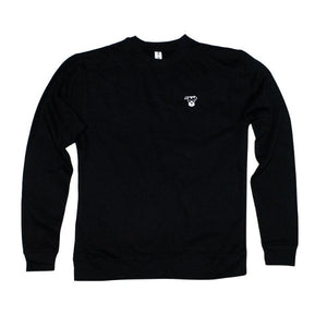 Small Logo Crewneck Sweatshirt | Black