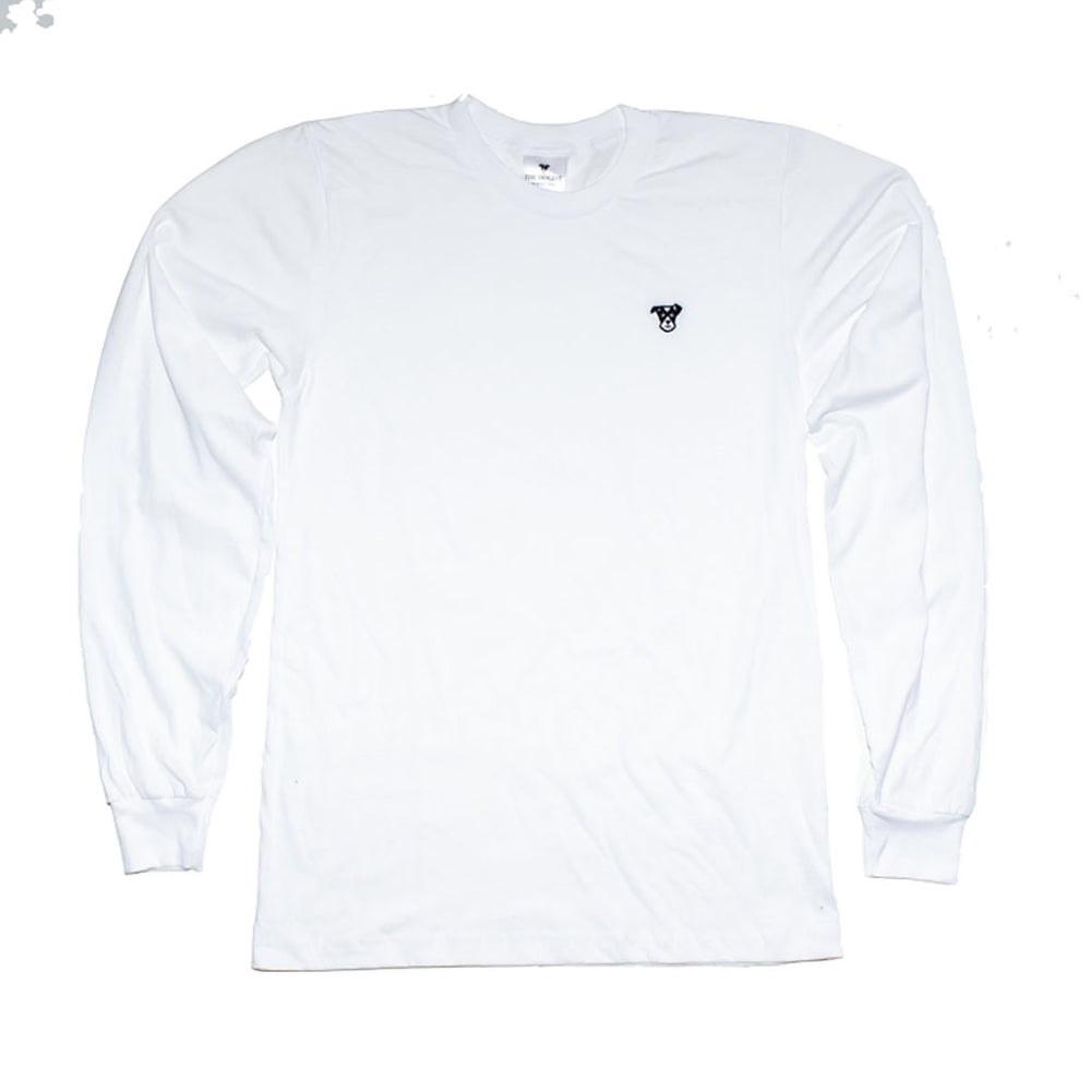 Classic Long-Sleeve Tee | White