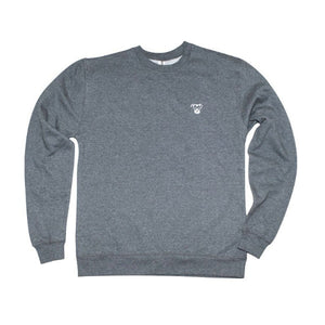 Small Logo Crewneck Sweatshirt | Grey