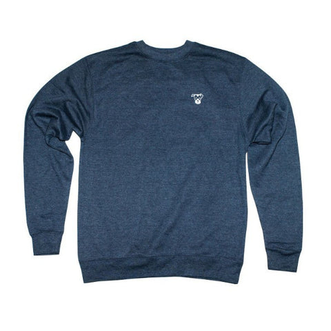 Small Logo Crewneck Sweatshirt | Navy