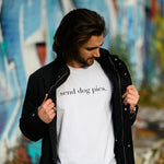 Send Dog Pics Tee | White