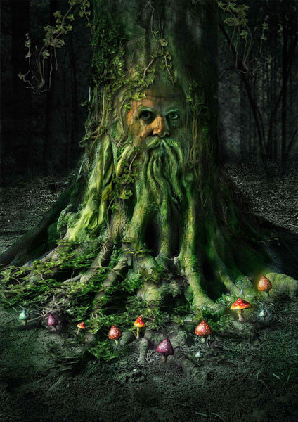 Project Fey Green Man Tree Spell