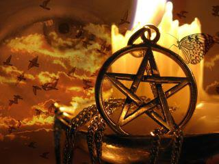 Pentagram Protection Spell by Project Fey, great for talismans, jewelry, altar pieces