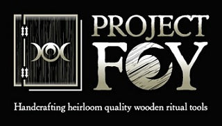 Project Fey - Custom blank books of shadows, wands, runes, pendulums, spirit boards and other magical tools for spellcraft