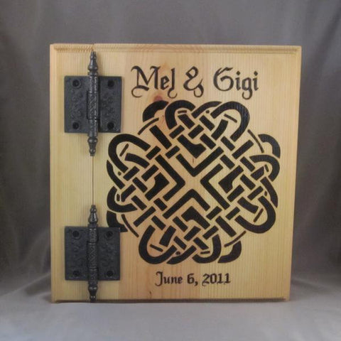Handfasting / Wedding Album with a Celtic wedding knot