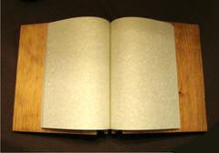 Blank Cover Book of Shadows