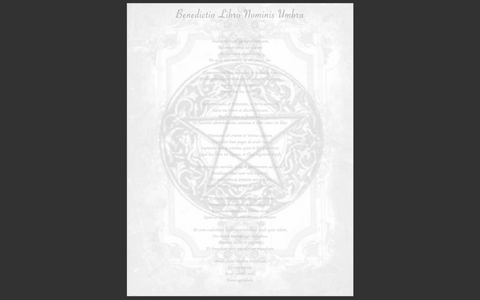 Book of Shadows Blessing and Charging Spell Page and Ritual