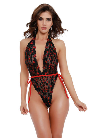 Body - Red Diamond Style 11781 schwarz/rot