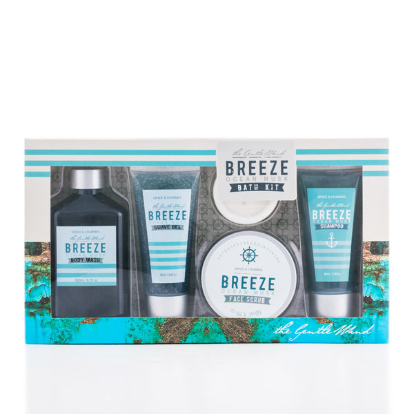 Breeze Toilet Set for Men - Gentiuss