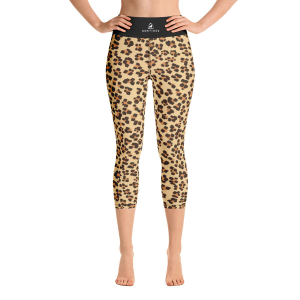Leopard Design Damen-Leggings