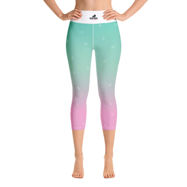 Yoga-Capri-Damen Leggings - Gentiuss