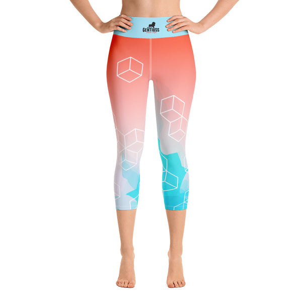 Yoga-Capri- Damen Leggings - Gentiuss