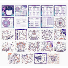 Load image into Gallery viewer, Written in the Stars Horoscope Sketch Set