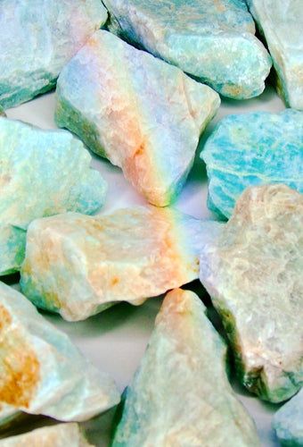 Rough Amazonite Stone - Medium