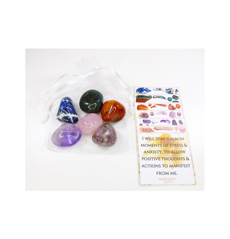 Anxiety Crystal Stones Bundle