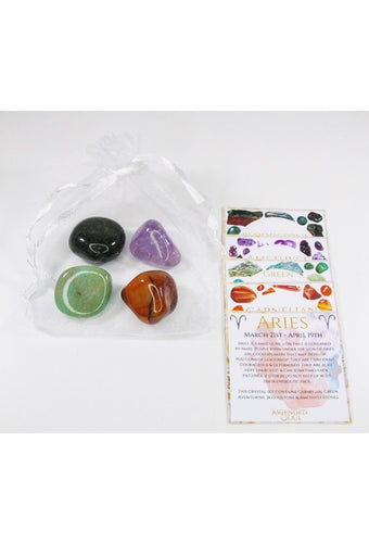 Aries Crystal Zodiac Bundle