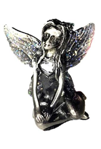 Crystal Birthstone Fairy Ornament - April