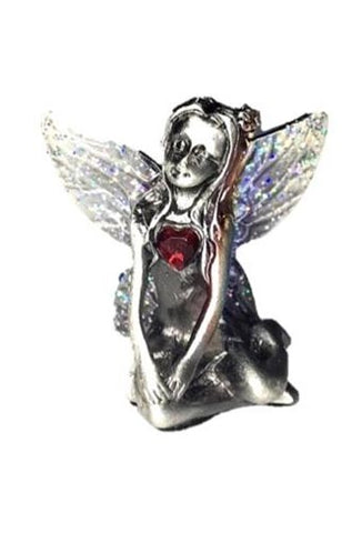 Blue Winged Blue Sapphire Birthstone Fairy Ornament - September