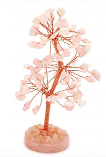Rose Quartz Gem Tree