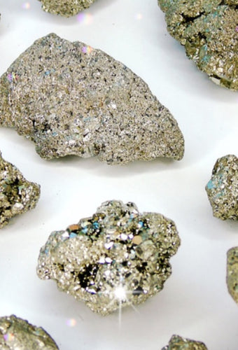 Iron Pyrite (Fool's Gold) Cluster