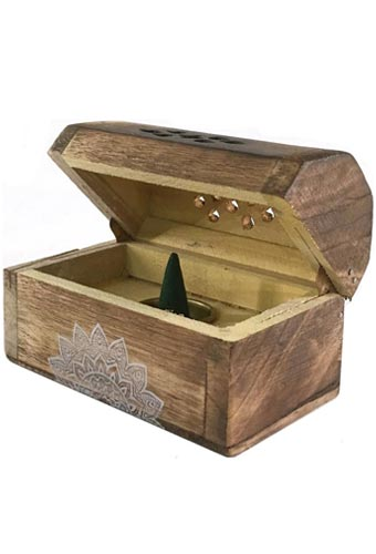 Morning Blossom Esscents Incense Cone Chest