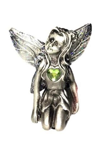 Peridot Birthstone Fairy Ornament - August