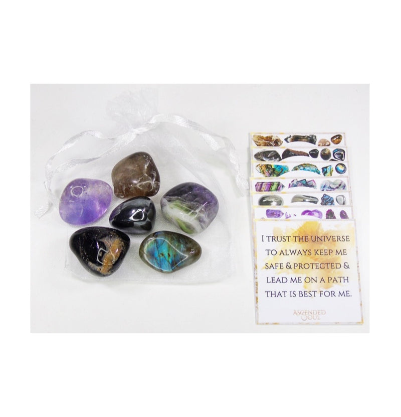 Protection Crystal Stones Bundle