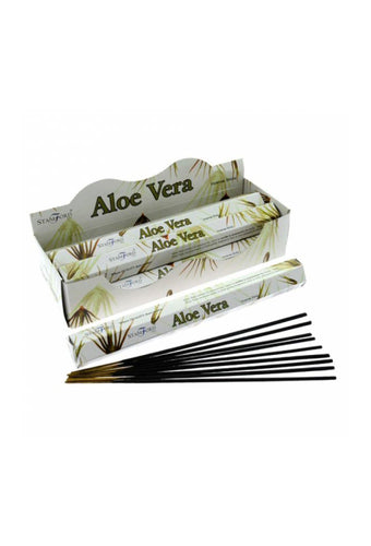 Stamford Hex Aloe Vera Incense Sticks