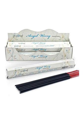 Stamford Hex Angel Worry Incense Sticks