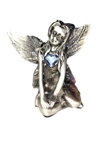 Turquoise Birthstone Fairy Ornament - December