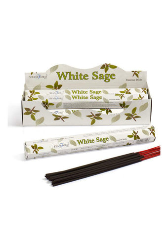 Stamford Hex White Sage Incense Sticks