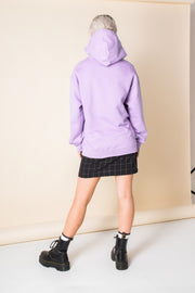Daisy Street Oversized Hoodie with Multicoloured New York Print